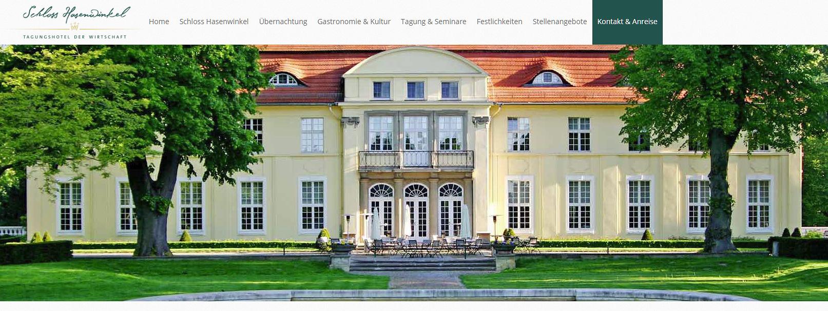 <span class='highlight'>Raumgestaltung</span> im Schlosshotel Hasenwinkel
