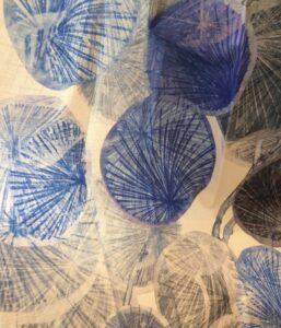 Stoffmuster: Chivasso (blau)